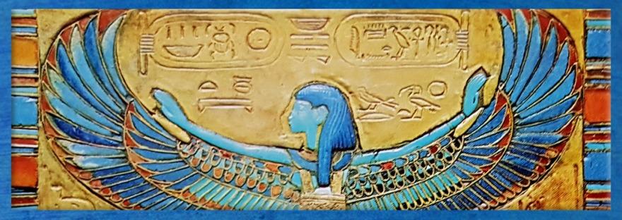 D'après la déesse Nout, ouverture, Égypte Ancienne. (Marsailly/Blogostelle)