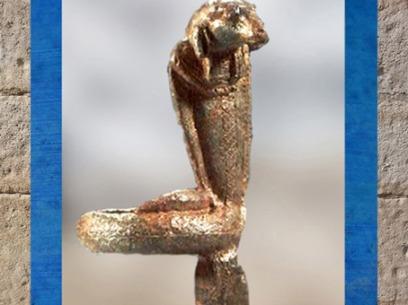 D'après Amon-serpent-bélier, une figure de Kematef, Égypte Ancienne. (Marsailly/Blogostelle)