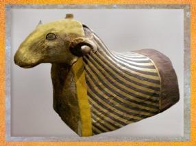D'après le bélier, dit l'Osiris, bélier de Khnoum,Époque Ptolémaïque ou romaine, Éléphantine, Assouan, Égypte Ancienne. (Marsailly/Blogostelle)