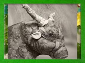 D'après un taureau Apis momifié, Égypte Ancienne. (Marsailly/Blogostelle)