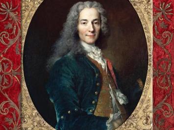 D'après Voltaire (24 ans), 1718 apjc, de Nicolas de Largillière, Château de Versailles, France, XVIIIe siècle. (Marsailly/Blogostelle)