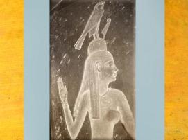D'après la déesse de l'Occident, Imentet, sarcophage du prêtre Djedhor, diorite, IVe siècle avjc, Sakkara, Époque ptolémaïque, Égypte Ancienne. (Marsailly/Blogostelle)