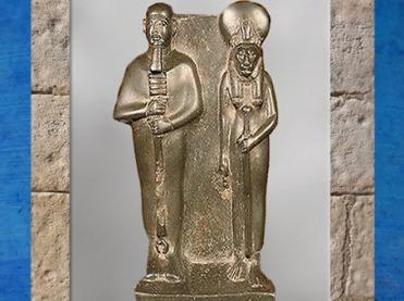 D'après le couple Ptah et Sekhmet, vers 663- 525 avjc, Basse Époque, Égypte Ancienne. (Marsailly/Blogostelle)