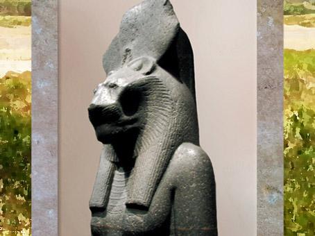 D'après la déesse Sekhmet, XVIIIe dynastie, règne du roi Amenhotep III, Nouvel Empire, Égypte Ancienne. (Marsailly/Blogostelle)