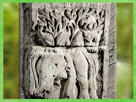D'après le thème du Cerf, Pilier des Nautes, Ier siècle apjc, Lutèce, Paris, Gaule Romaine. (Marsailly/Blogostelle)
