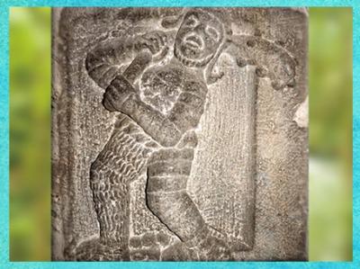D'après Hercule-Ogmios, Pilier des Nautes, vers 14-37 apjc, Lutèce, Paris, Gaule Romaine. (Marsailly/Blogostelle)