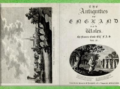 D'après Les Antiquités d'Angleterre et du Pays de Galles, de Grose, Londres, détail, XVIIIe siècle. (Marsailly/Blogostelle)