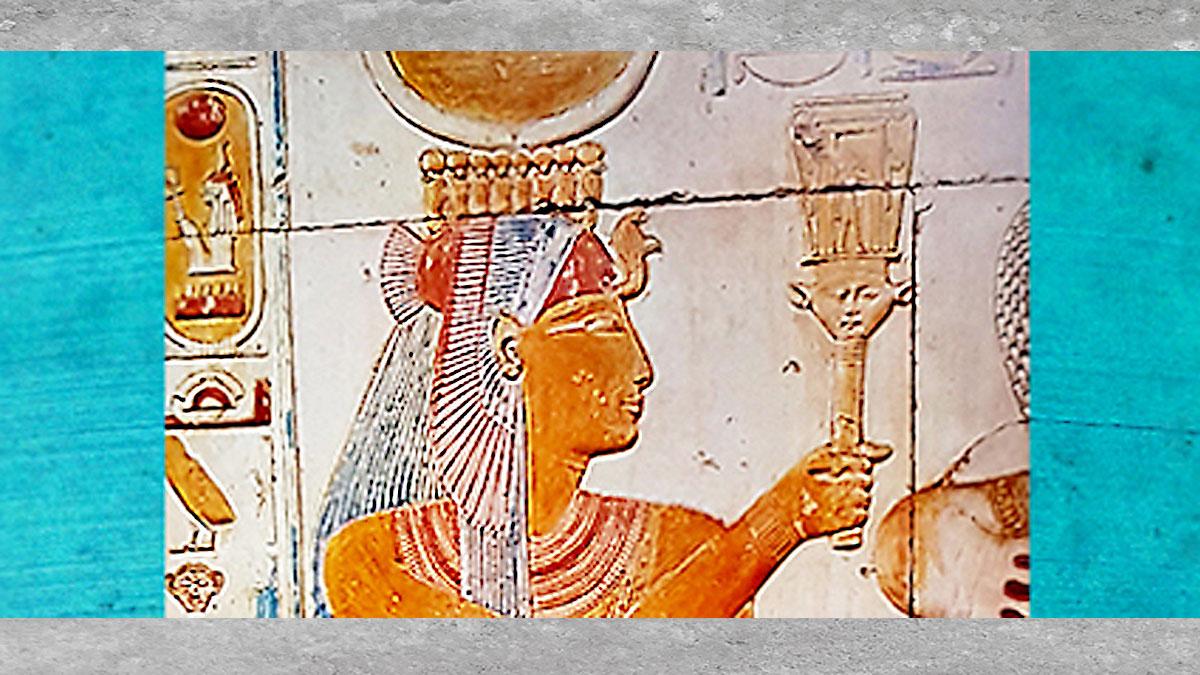 D'après la déesse Isis aux multiples visages, histoire du sacré. (Marsailly/Blogostelle)