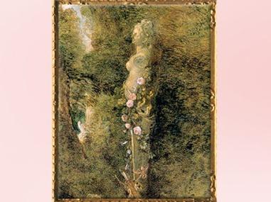 D'après la statue de Vénus, détail, Pèlerinage à l'île de Cythère, d'Antoine Watteau, huile sur toile, 1717, huile sur toile, XVIIIe siècle apjc. (Marsailly/Blogostelle)