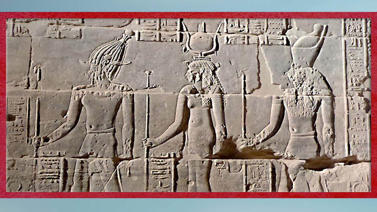 D'après la déesse Isis, souveraine de Philae, histoire du sacré. (Marsailly/Blogostelle)