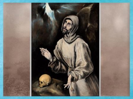 D'après Saint-François recevant les stigmates, Domínikos Theotokópoulos dit Le Greco, huile sur toile, vers 1595 apjc, XVIe siècle, Renaissance. France. (Marsailly/Blogostelle)