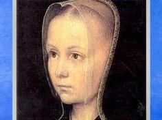 D'après Marguerite Porète, détail du Baptême du Christ, de Gérard David, huile sur bois, vers 1502 - 1508 apjc, école Flamande, début XVIe siècle, Renaissance. (Marsailly/Blogostelle)