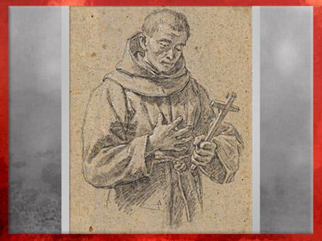 D'après saint François et la croix, Etienne Parrocel, XVIe siècle, Renaissance. (Marsailly/Blogostelle)