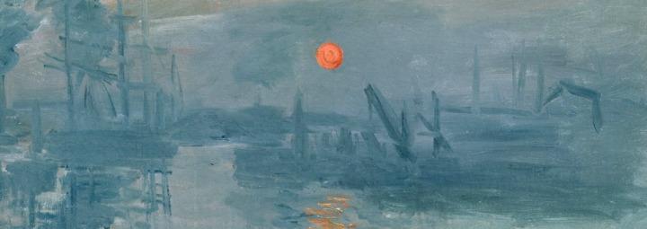 D'après Soleil levant, Monet. (Marsailly/Blogostelle)