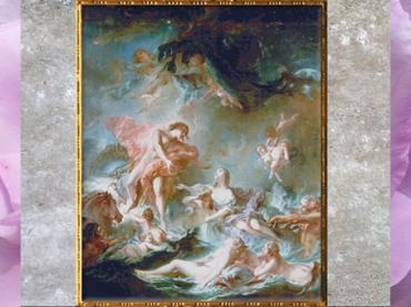 D'après Le Coucher du Soleil, de François Boucher, 1752, huile sur toile, XVIIIe siècle, période Rocaille. (Marsailly/Blogostelle)