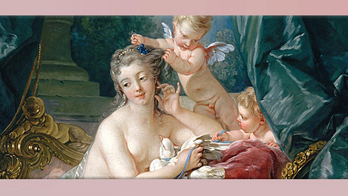 D'après l'art au 18e siècle, le Rocaille, Boucher, histoire de l'art. (Marsailly/Blogostelle)