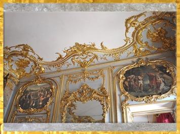 D'après des ornements rocailles, Palais de Rohan, Strasbourg, 1732 - 1742, de Robert de Cotte pour le cardinal de Rohan-Soubise, XVIIIe siècle, France, style Rocaille. (Marsailly/Blogostelle)