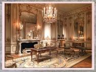 D'après l'Hôtel de Varengeville, à Paris, décor de Nicolas Pineau, vers 1736–1752, XVIIIe siècle, France, style Rocaille. (Marsailly/Blogostelle)