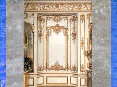 D'après les boiseries conçues par Nicolas Pineau pour l'Hôtel de Varengeville, à Paris, vers 1736–1752, détail, XVIIIe siècle, France, style Rocaille. (Marsailly/Blogostelle)