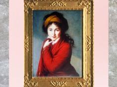 D'après la comtesse Nathalie Golovine, portrait, d'Élisabeth Louise Vigée Le Brun, vers 1800, France, XVIIIe siècle. (Marsailly/Blogostelle)