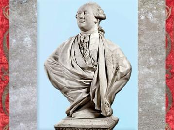 D'après un portrait de Louis XVI,roi de France et de Navarre, de Jean-Antoine Houdon, 1790, Château de Versailles, France, XVIIIe siècle. (Marsailly/Blogostelle)