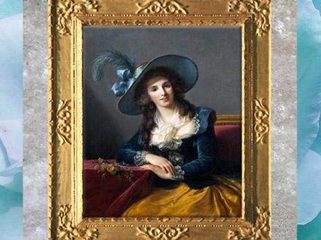 D'après le portrait de la Comtesse de Ségur, d'Élisabeth Louise Vigée Le Brun, 1785, France, XVIIIe siècle. (Marsailly/Blogostelle)