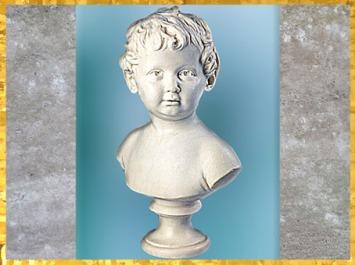 D'après Anne Ange Houdon, de Jean-Antoine Houdon, marbre, fille de l'artiste à 15 mois, plâtre original, exposé au Salon de 1791, France, XVIIIe siècle. (Marsailly/Blogostelle)
