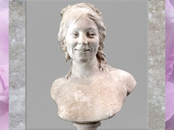 D'après le portrait de Madame Houdon, épouse de l'artiste, de Jean-Antoine Houdon, 1787, France, XVIIIe siècle. (Marsailly/Blogostelle)