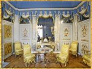 D'après le cabinet turc du comte d'Artois, frère de Louis XVI, palais du Temple, Paris, France, XVIIIe siècle, période Néoclassique. (Marsailly/Blogostelle)