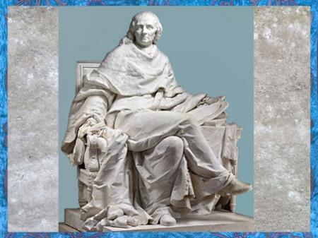 D'après Montesquieu et son œuvre, L'Esprit des lois, statue en marbre, de Clodion (Claude Michel), Salon de 1783, France, XVIIIe siècle. (Marsailly/Blogostelle)