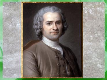 D'après un portrait de Jean-Jacques Rousseau, de Maurice Quentin de La Tour, 1764, France, XVIIIe siècle. (Marsailly/Blogostelle)