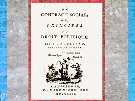 D'après l'ouvrage Du contrat social ou Principes du droit politique, de Jean-Jacques Rousseau, 1762, France, XVIIIe siècle. (Marsailly/Blogostelle)