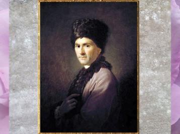 D'après Rousseau en costume arménien, de Allan Ramsay, peintre écossais, 1766, huile sur toile, France, XVIIIe siècle. (Marsailly/Blogostelle)