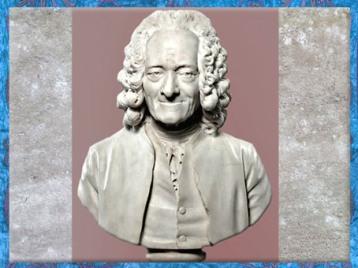 D'après le buste de Voltaire, du sculpteur Jean-Antoine Houdon, 1778 apjc, marbre, France, XVIIIe siècle. (Marsailly/Blogostelle)