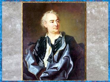 D'après un portrait de Denis Diderot, en robe de chambre, de Louis-Michel Van Loo, vers 1770, Paris, France, XVIIIe siècle. (Marsailly/Blogostelle)