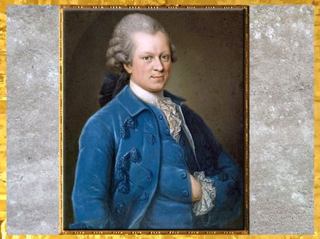 D'après un portrait de Lessing, de la peintre Anna Rosina Lisiewska, vers 1767-1768, XVIIIe siècle, Allemagne. (Marsailly/Blogostelle)