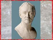 D'après Denis Diderot, de Jean Antoine Houdon, terre cuite du Salon de 1771, France, XVIIIe siècle. (Marsailly/Blogostelle)