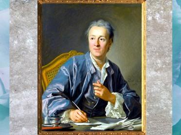 D'après un portrait de Denis Diderot, de Louis Michel Van Loo, peinture, vers 1770, Paris, XVIIIe siècle. (Marsailly/Blogostelle)