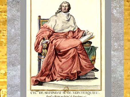 D'après un portrait de Montesquieu en habit de parlementaire, du peintre Claude Duflos, selon une sculpture de Clodion, estampe, entre 1750 et 1800, XVIIIe siècle. (Marsailly/Blogostelle)