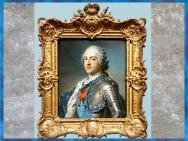 D'après le roi Louis XV, de Maurice-Quentin de La Tour, Salon de 1748, pastel, France, XVIIIe siècle, France. (Marsailly/Blogostelle)