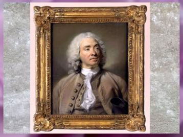 D'après le graveur Gabriel Huquier, de Jean-Baptiste Perronneau, Salon 1747, pastel, France, XVIIIe siècle. (Marsailly/Blogostelle)