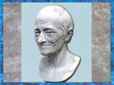 D'après Marie Arouet dit Voltaire, de Jean-Antoine Houdon, 1778, France, XVIIIe siècle. (Marsailly/Blogostelle)