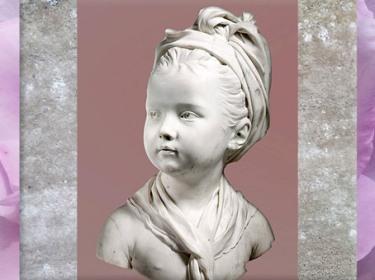 D'après Louise Brongniart, de Jean-Antoine Houdon, 1779, marbre, fille de l'architecte Brongniart, terre cuite, Salon de 1777, France, XVIIIe siècle. (Marsailly/Blogostelle)