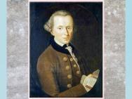 D'après un portrait du philosophe Emmanuel Kant, de Johann Gottlieb Becker, 1768, huile sur toile, XVIIIe siècle. (Marsailly/Blogostelle)