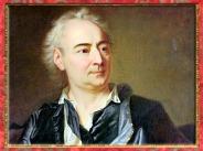 D'après le portrait de Denis Diderot, détail, de Louis-Michel Van Loo, 1767 apjc, France, XVIIIe siècle. (Marsailly/Blogostelle)