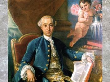 D'après le portrait présumé de Giacomo Casanova, d'Anton Raphaël Mengs, vers 1760-1768, huile sur toile, XVIIIe siècle, style Néoclassique. (Marsailly/Blogostelle)
