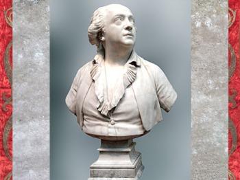 D'après Giuseppe Balsamo, dit comte de Cagliostro, de Jean-Antoine Houdon, 1786, marbre, XVIIIe siècle, style Néoclassique. (Marsailly/Blogostelle)