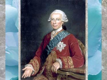 D'après le comte de Saint-Germain, Claude-Louis-Robert, de Jean-Joseph Taillasson, 1777, huile sur toile, château de Versailles, XVIIIe siècle. (Marsailly/Blogostelle)