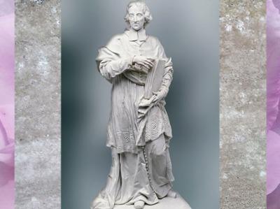 D'après Fénelon, biscuit de porcelaine, modèle de Félix Lecomte, série des Grands Hommes de la France, manufacture de Sèvres, XVIIIe siècle. (Marsailly/Blogostelle)