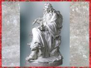 D'après Jean de La Fontaine, biscuit de porcelaine, réduction du plâtre de Pierre Julien, Salon de 1783, série des Grands Hommes de la France, manufacture de Sèvres, XVIIIe siècle. (Marsailly/Blogostelle)